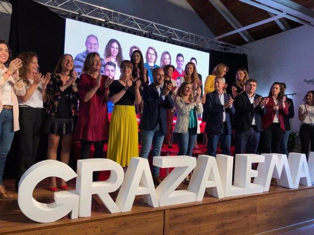 """Cádiz.- 26M.- PSOE destaca al candidato de Grazalema por ser """"referente en política de la zona rural"""""""