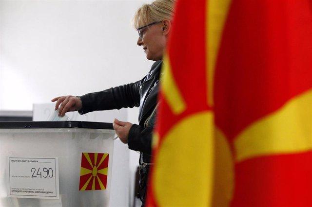 Macedonia.- Transcurre sin incidentes la segunda vuelta de las presidenciales de Macedonia del Norte