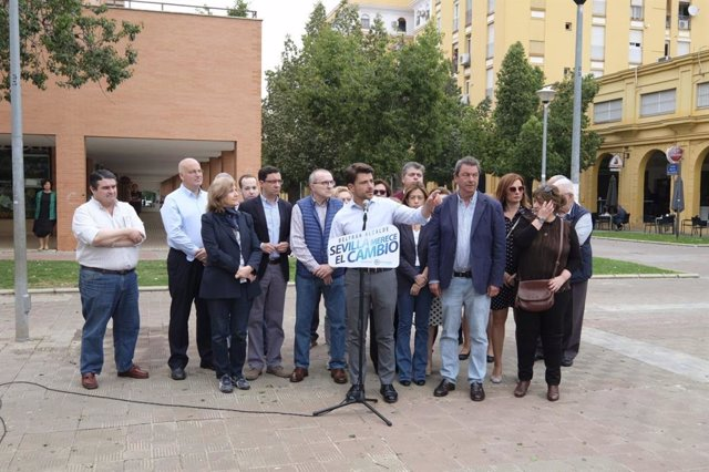 "Sevilla.- 26M.- Beltrán Pérez se compromete a ""ser el alcalde que lleve el metro a Sevilla Este"""
