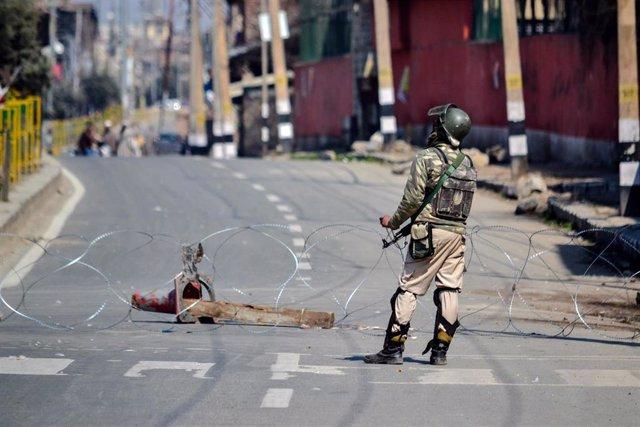 Cachemira.- Dos milicianos muertos en un enfrentamiento con las fuerzas indias en Cachemira