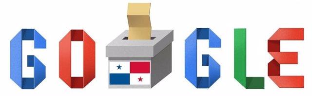 Google celebra las elecciones en Panamá con un 'doodle' especial