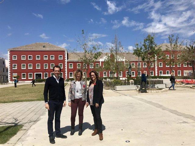 El PSOE propone abrir un instituto en el cuartel Conde Cifuentes de Es Castell