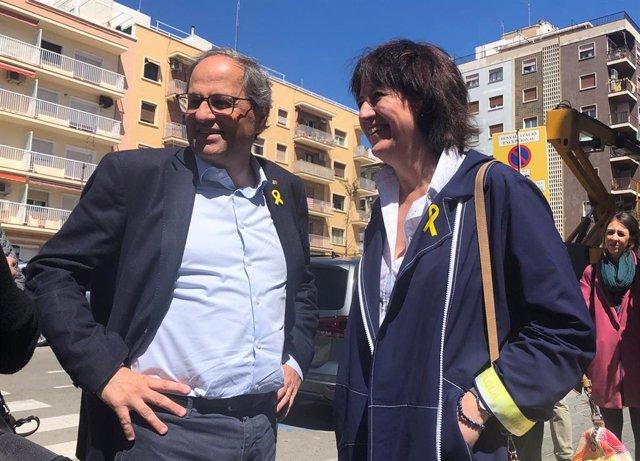"""Torra felicita a Puigdemont por la resolución del TS: """"Los tribunales le han vuelto a dar la razón"""""""