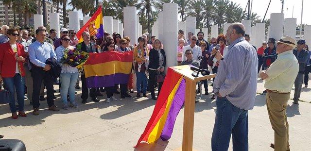 Almería.- Memoria.- PSOE, IU y PCA homenajean a 142 almerienses víctimas de Mauthausen