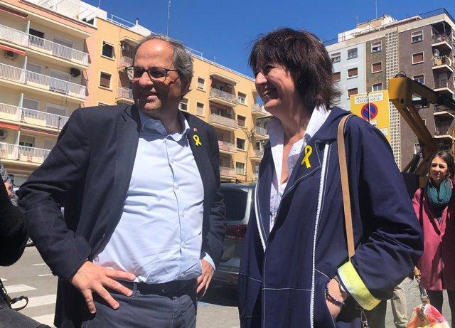"""Torra felicita a Puigdemont per la resolució del TS: """"Els tribunals li han tornat a donar la raó"""""""
