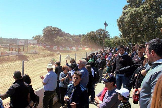 El Circuito de Esplús supera los 3.500 visitantes durante la celebración del Campeonato de España de Autocross