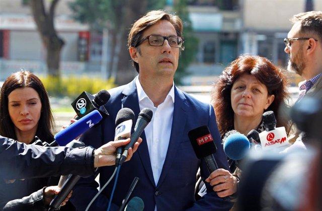 Macedonia.- El prooccidental Pendarovski se impone en la primera vuelta de las presidenciales de Macedonia del Norte