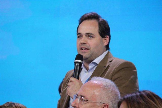 Paco Núñez, en la Convención Nacional del PP