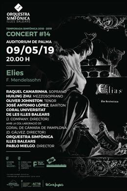 La Sinfónica interpretará por primera vez 'Elies' de F. Mendelssohn en el decimocuarto concierto de temporada