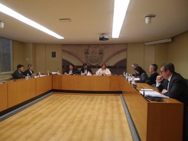 AMP.- La exgerente del PP se acoge a su derecho al silencio en la comisión que investiga las cuentas del partido