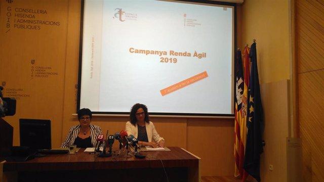 El Govern lanza la campaña 'Renta Ágil 2019' en la Part Forana
