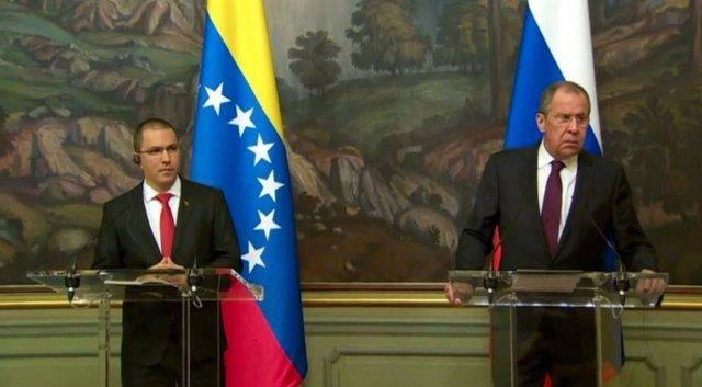 El canciller ruso afirma que el uso de la fuerza militar en Venezuela sería una humillación para toda América Latina