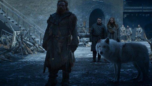 """Juego de Tronos: La escena de Jon Snow y Fantasma que indigna a los fans: """"Estáis consiguiendo que odie a Jon"""""""