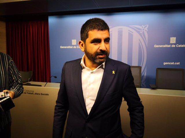 """Atur.-  El Homrani assegura que """"no hi ha hagut afectació per la pujada del salari mínim"""""""