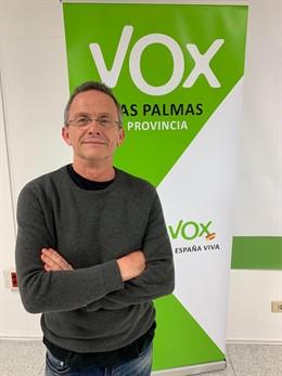 26M.- El Médico Carmelo González Lidera La Lista De VOX Al Parlamento De Regional Por La Isla De Gran Canaria