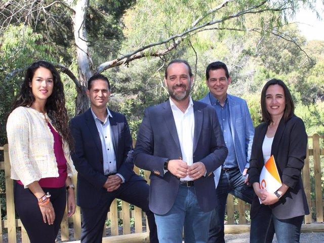 Málaga.- 26M.- Cs se compromete a plantar 50.000 árboles y llevar el modelo de Gibralfaro a todos los parques forestales