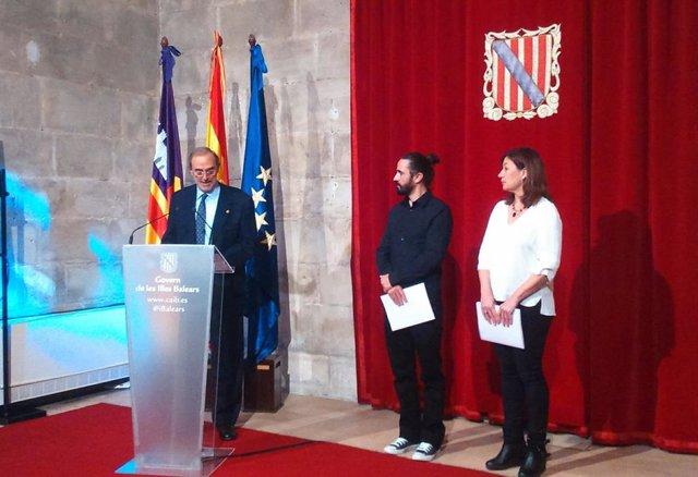 Antoni Diéguez, Baltasar Picornell i Francina Armengol