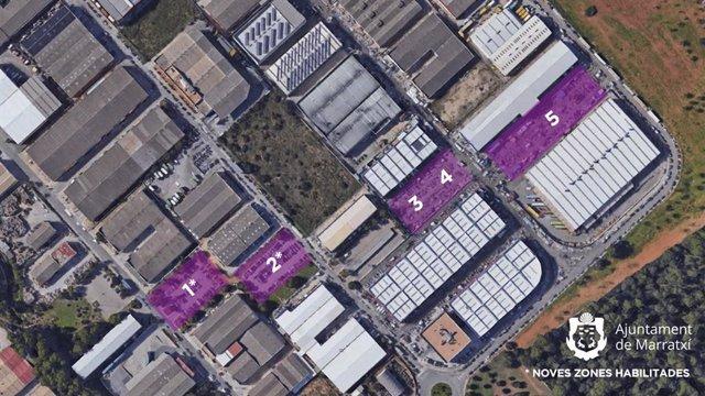 Marratxí reubica a partir del 19 de mayo el Gran Mercat para mejorar la seguridad, limpieza y accesibilidad