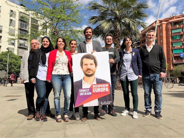 26M.- Urtasun Llança La seva Campanya A les Europees Que Comptarà amb Colau, Iglesias I Keller