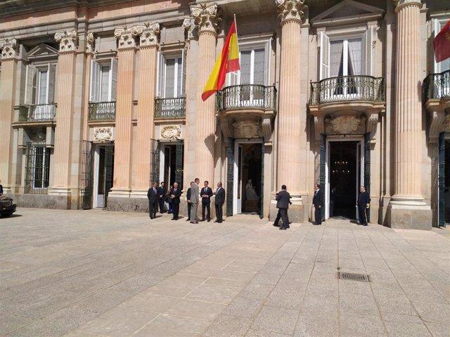 """El Rey habla de cambio de era ligado a la """"Cuarta revolución Tecnológica"""" en la reunión del Instituto Elcano"""