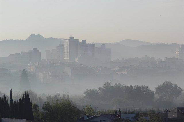 """Ecologistas denuncia que """"las quemas antiheladas vuelven a provocar contaminación en la Vega Alta"""""""