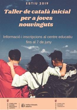 Obert el termini d'inscripció als tallers gratuïts d'estiu per a joves amb pocs coneixements de català