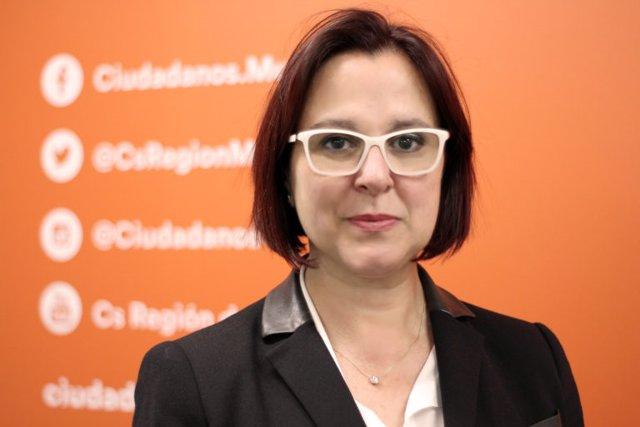 """Isabel Franco lamenta el viraje del PP y recuerda a López Miras que """"el centro ya está ocupado por Ciudadanos"""""""