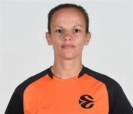 Baloncesto/Euroliga.- Anne Panther será la primera árbitra en la historia de la 'Final Four'