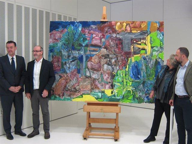 Un total de 217 óleos del legado de Ruiz Balerdi se trasladan del Bellas Artes de Bilbao al centro guipuzcoano Gordailua