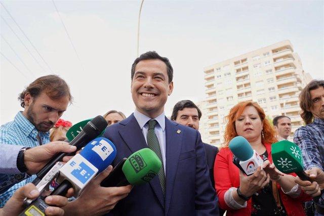 """Moreno desea una """"nueva etapa de entendimiento"""" entre PP y PSOE: """"Muchos ciudadanos echan de menos el bipartidismo"""""""