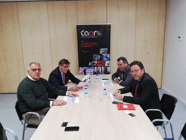 Aliaga (PAR) se compromete a elaborar un plan estratégico 2020-2025 para el sector de la automoción en Aragón