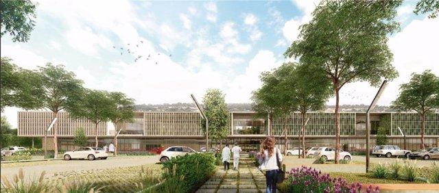 El proyecto arquitectónico 'Es Pas Nou', ganador del concurso de ideas para el Hospital de Felanitx