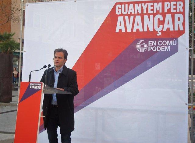 """28A.- Asens dice que PP y Cs """"cada vez están actuando más como extrema derecha"""" en la campaña"""