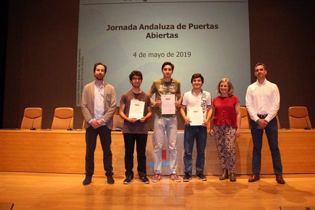 Sevilla.- La Escuela Técnica Superior de Ingeniería de la US premia la excelencia académica de diez jóvenes andaluces