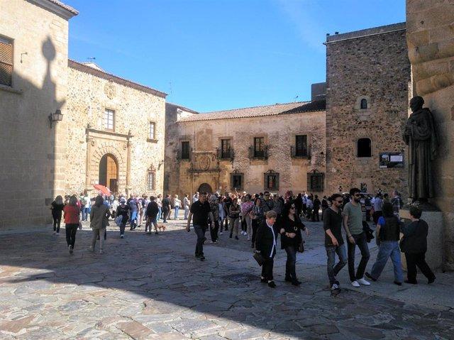 Turismo.- Más de 45.300 personas eligen Cáceres como destino turístico para disfrutar del Puente de Mayo