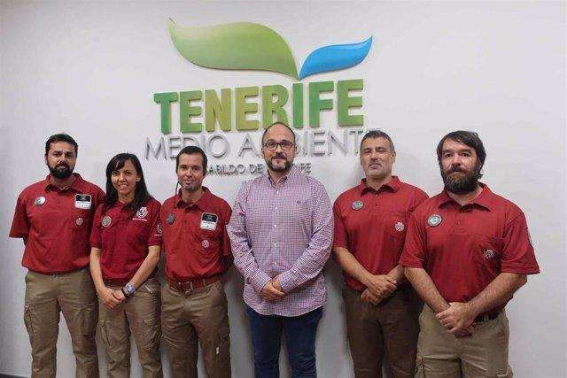 Incorporan a cinco personas al cuerpo de agentes de medio ambiente de Tenerife