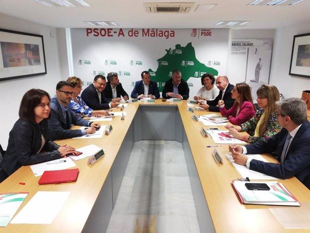 """Málaga.- PSOE dice que bastan 100 días de gobierno en Andalucía para """"rechazar el modelo de derechas y ultraderecha"""""""