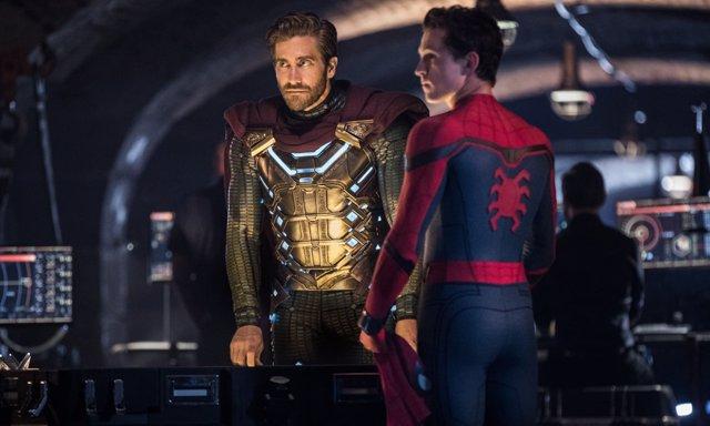 SpiderMan: Lejos de casa con Mysterio