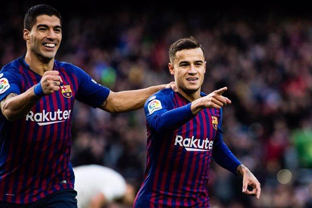 FOOTBALL - SPANISH CHAMP - FC BARCELONA v REAL MADRID