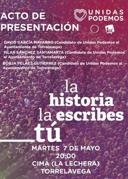 26M.- Unidas Podemos Presentará Este Martes Su Candidatura Para Torrelavega