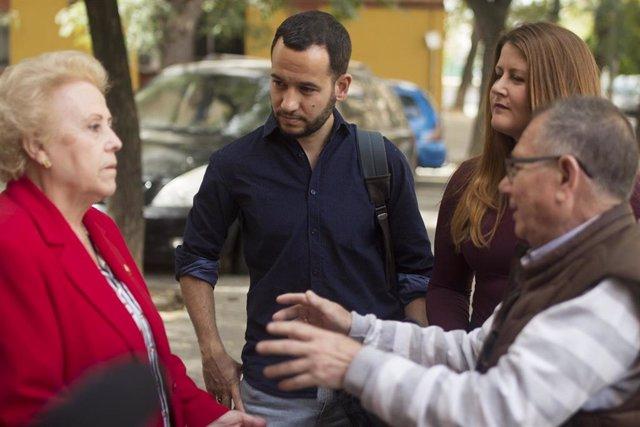 """Sevilla.- 26M.- Adelante propone un censo de personas mayores que vivan solas para """"garantizar su acompañamiento"""""""