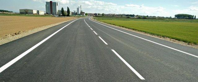 Acaben les obres de la carretera entre Linyola i Bellcaire amb 4,3 milions d'inversió