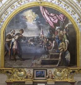Córdoba.- El Cabildo restaura las pinturas de la Capilla de San Pelagio en la Mezquita-Catedral
