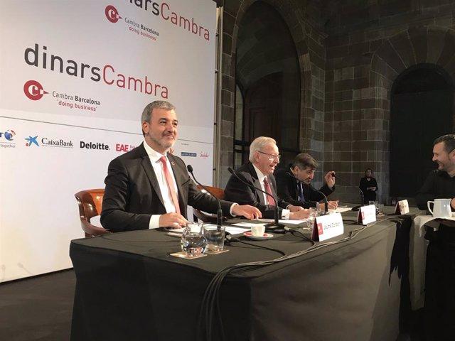 """26M.- Collboni Es Marca Un Doble Objectiu: """"Pobresa Zero I Emissions Zero Per 2030"""""""