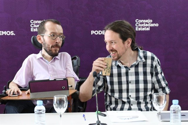 Reunión del Consejo Ciudadano Estatal de Podemos para hacer un análisis global de la situación política tras las elecciones generales