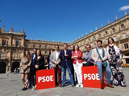 El PSOE de Salamanca confía en conseguir 823 votos más que en las generales