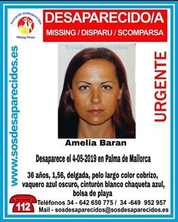Sucesos.- Buscan a una joven de 36 años desaparecida en Palma este sábado