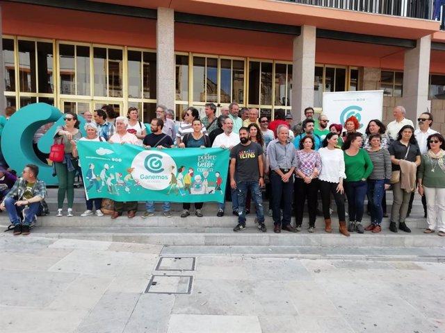 """Córdoba.- 26M.- Ganemos en Común lleva al Constitucional la anulación de su candidatura en favor de una """"falsa"""" Ganemos"""