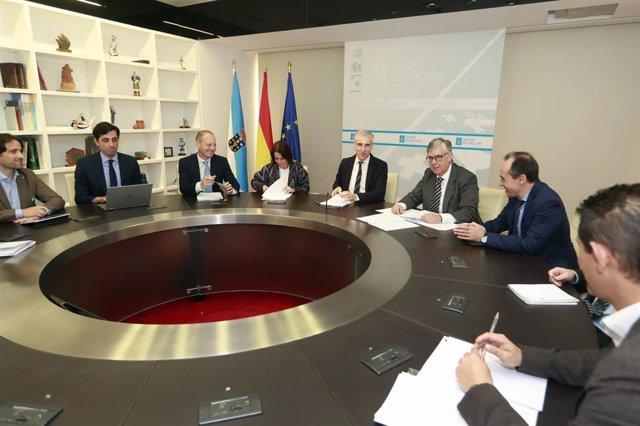 Industria 4.0.- La Xunta evalúa nuevas iniciativas para avanzar en el impulso de los centros tecnológicos gallegos