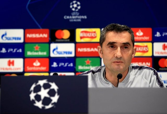 UEFA Champions League - Barcelona press conference